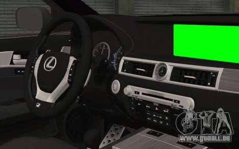 Lexus GS 300 pour GTA San Andreas vue de droite