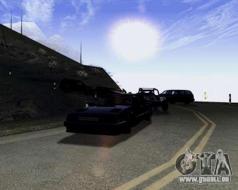 LineFlex ENBseries pour GTA San Andreas troisième écran