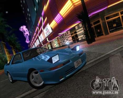 Toyota Supra 2.0GT MK3 pour GTA San Andreas vue arrière
