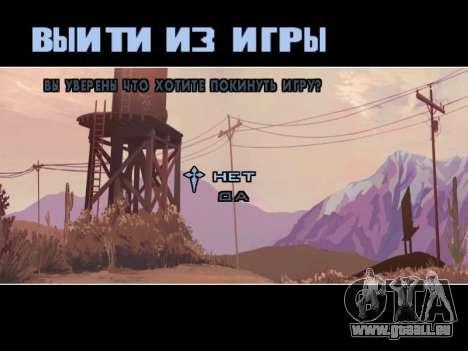 Menu HD pour GTA San Andreas septième écran