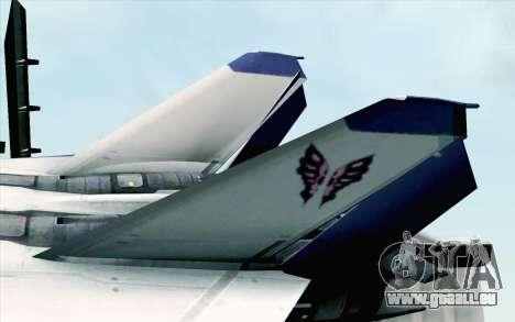 CFA-44 Butterfly Master für GTA San Andreas zurück linke Ansicht