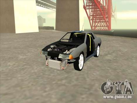 Elegy Skyline pour GTA San Andreas vue de côté