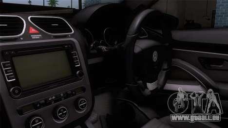 Volkswagen Scirocco GT 2009 pour GTA San Andreas vue de droite