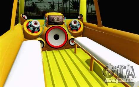 Daihatsu Espass Angkot YRT pour GTA San Andreas vue intérieure
