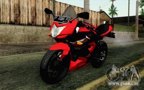 Kawasaki Ninja 250RR Mono Red für GTA San Andreas