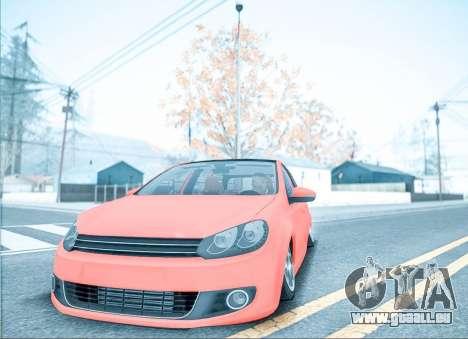ENB pour les moyennes PC pour GTA San Andreas quatrième écran