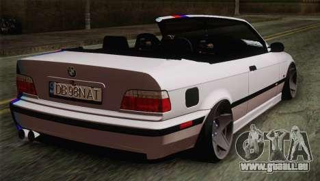 BMW E36 M3 Cabrio für GTA San Andreas linke Ansicht