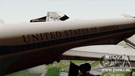 Boeing VC-137 pour GTA San Andreas vue arrière