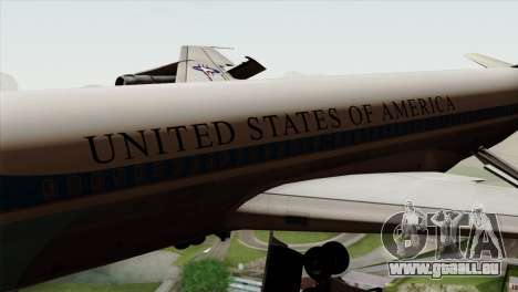 Boeing VC-137 für GTA San Andreas Rückansicht