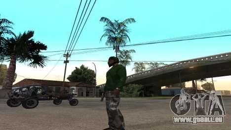 Black Deagle pour GTA San Andreas deuxième écran