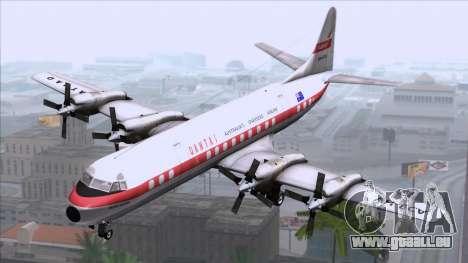 L-188 Electra Qantas für GTA San Andreas