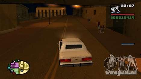 Pour augmenter ou diminuer le radar dans GTA V pour GTA San Andreas quatrième écran