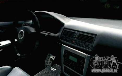 Volkswagen Golf Mk4 R32 Stance v2.0 pour GTA San Andreas vue de droite