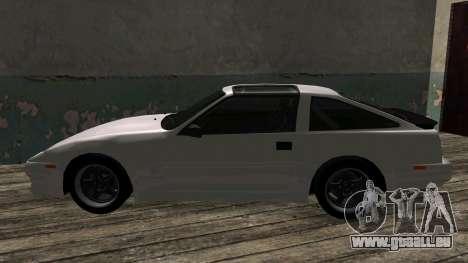 Nissan Fairlady Z 300ZX (Z31) pour GTA San Andreas vue arrière