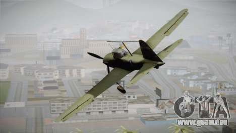 ИЛ-10 United States Air Force für GTA San Andreas linke Ansicht