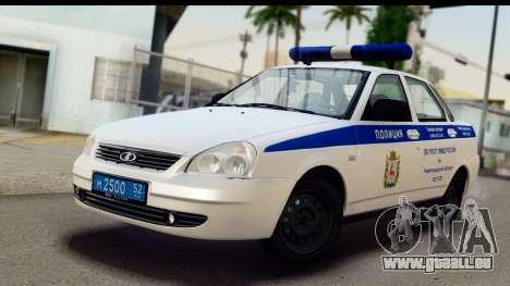 VAZ 2170 SPSP für GTA San Andreas
