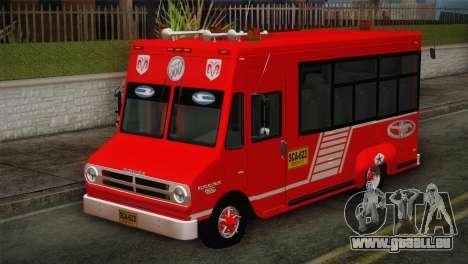 Dodge 300 Microbus für GTA San Andreas