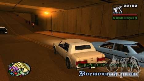 Pour augmenter ou diminuer le radar dans GTA V pour GTA San Andreas troisième écran