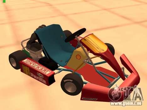 Kart per XiorXorn pour GTA San Andreas
