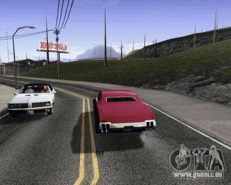 Medium ENBseries v1.0 pour GTA San Andreas troisième écran