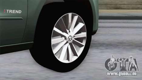 Volkswagen Golf Trend pour GTA San Andreas sur la vue arrière gauche