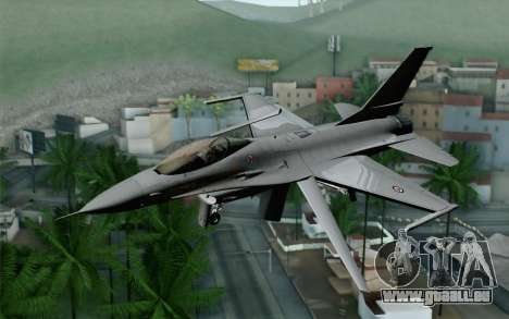 F-16 Fighting Falcon RNoAF für GTA San Andreas