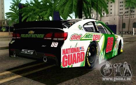 NASCAR Chevrolet SS 2013 v4 für GTA San Andreas linke Ansicht