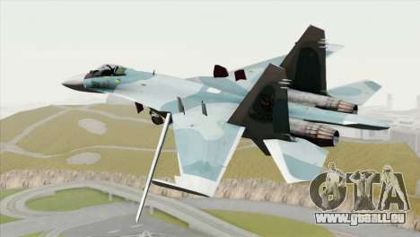 Sukhoi SU-27 PMC Reaper Squadron für GTA San Andreas linke Ansicht