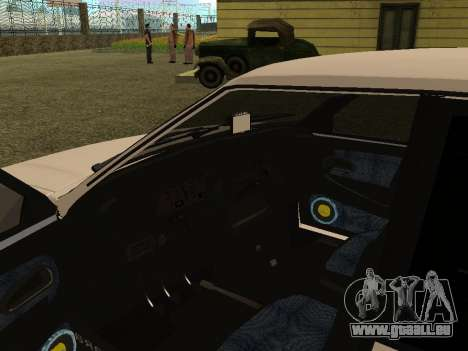 VAZ 2114 für GTA San Andreas Rückansicht