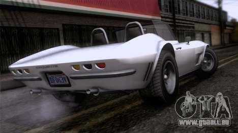 GTA 5 Invetero Coquette Classic TL für GTA San Andreas linke Ansicht