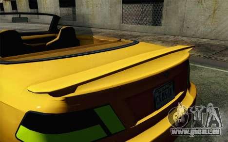 GTA 5 Ubermacht Sentinel Coupe pour GTA San Andreas vue de droite