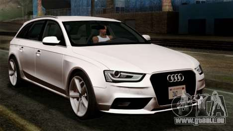 Audi A4 Avant 2013 pour GTA San Andreas