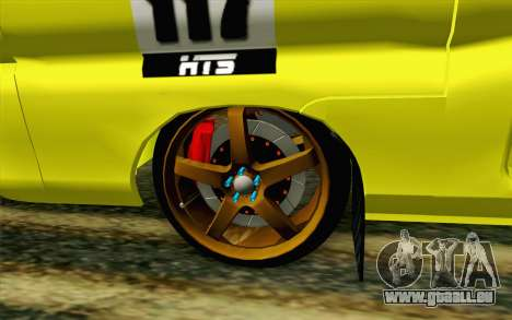 Daihatsu Espass Angkot YRT pour GTA San Andreas sur la vue arrière gauche
