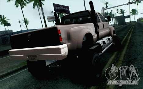 Vapid Guardian GTA 5 pour GTA San Andreas laissé vue