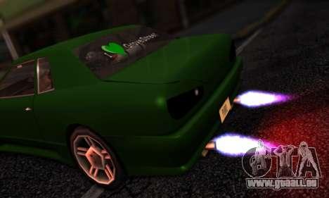 Elegy I Love GS v1.0 für GTA San Andreas Rückansicht