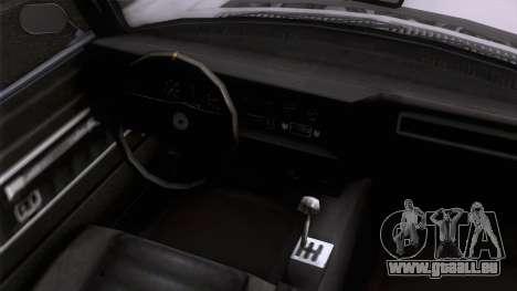 GTA 5 Invetero Coquette Classic TL SA Mobile für GTA San Andreas rechten Ansicht