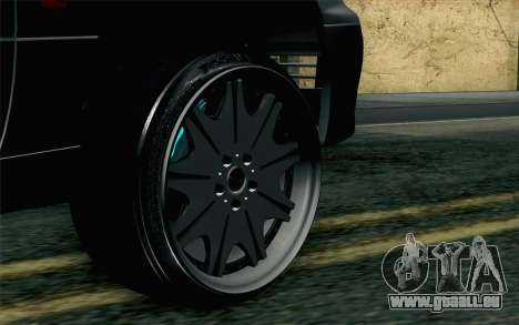 Lexus GS 300 pour GTA San Andreas sur la vue arrière gauche