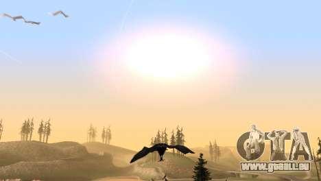 La possibilité de GTA V à jouer pour les oiseaux pour GTA San Andreas sixième écran