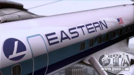 L-188 Electra Eastern Als für GTA San Andreas Rückansicht