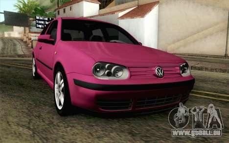 Volkswagen Golf v5 Stock pour GTA San Andreas