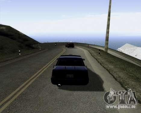 LineFlex ENBseries pour GTA San Andreas deuxième écran