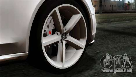 Audi A4 Avant 2013 pour GTA San Andreas sur la vue arrière gauche