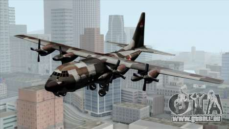 C-130B Indonesian Air Force (TNI AU) für GTA San Andreas