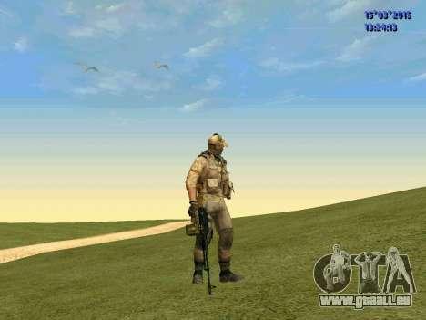Die Polizisten der Miliz des Donbass für GTA San Andreas zweiten Screenshot
