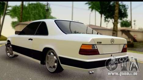 Mercedes Benz E320 W124 Coupe für GTA San Andreas linke Ansicht