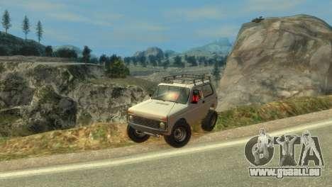 VAZ Niva 21213 für GTA 4 Unteransicht