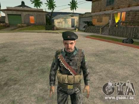 Cine des forces spéciales de l'URSS pour GTA San Andreas