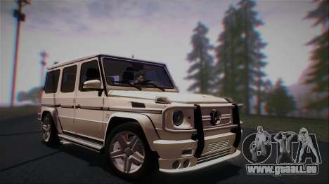 Mercedes-Benz G65 2013 AMG Body pour GTA San Andreas