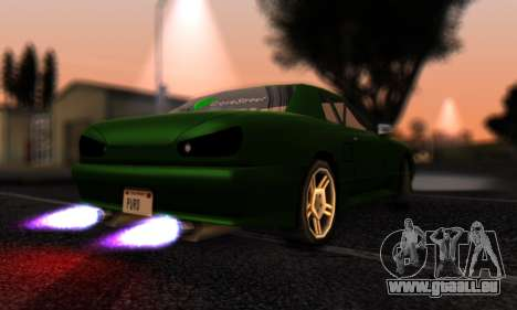 Elegy I Love GS v1.0 für GTA San Andreas zurück linke Ansicht