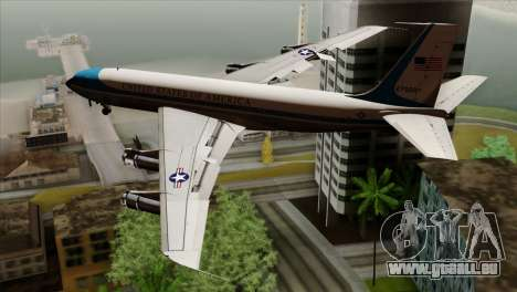 Boeing VC-137 pour GTA San Andreas laissé vue